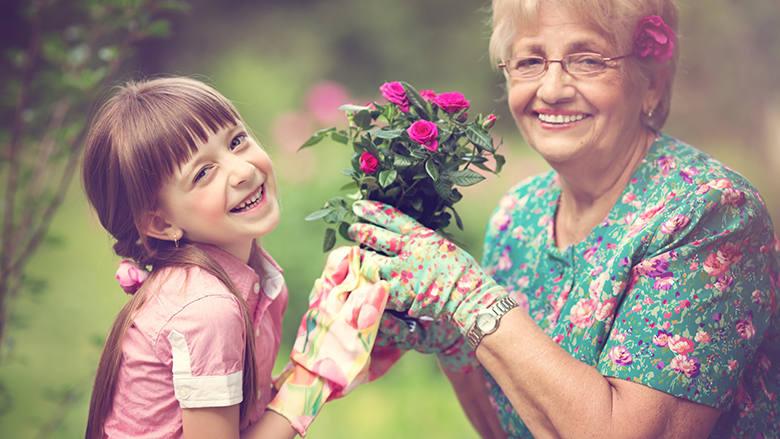 Glücklich durch Gartenarbeit