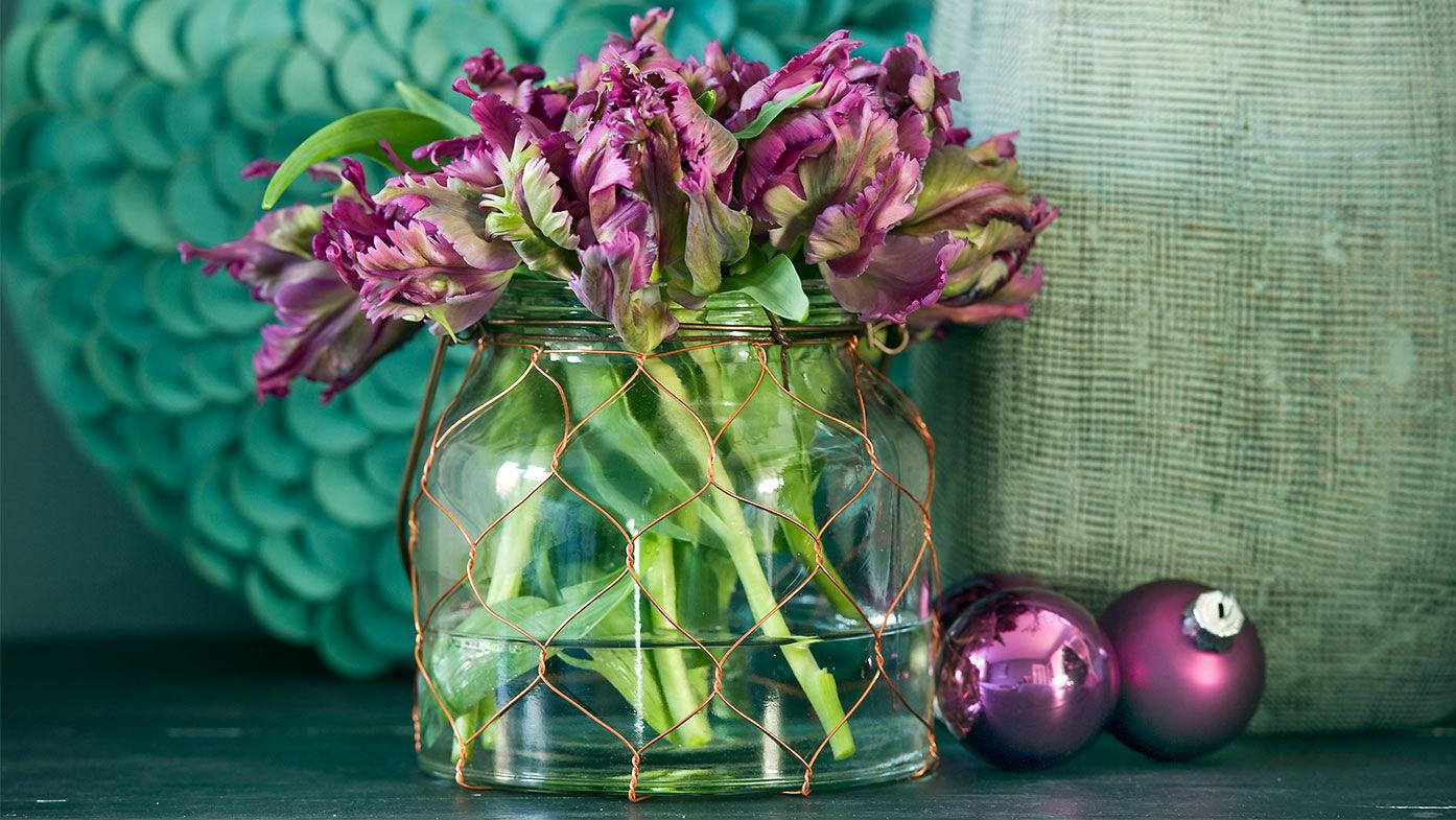 Weihnachtsdeko Mit Tulpen Gestalten