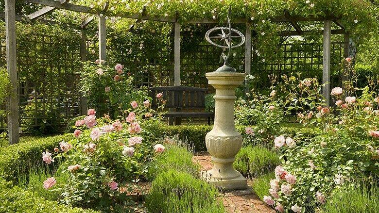 Deko Im Cottage Garten
