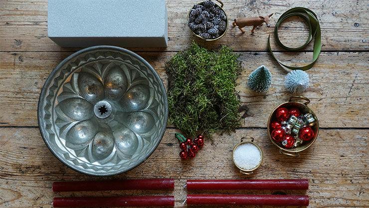 advents dekoration mit naturmaterialien. Black Bedroom Furniture Sets. Home Design Ideas