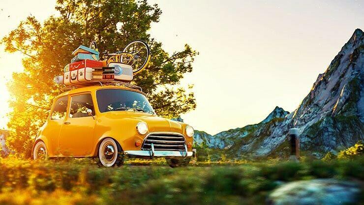 Monat des Campings