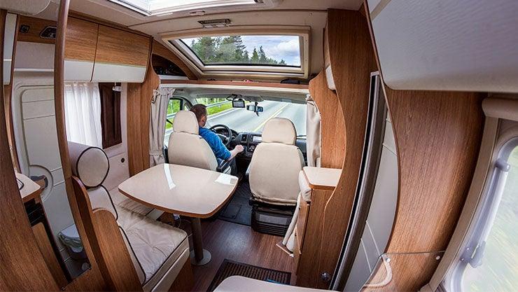 Luxus-Camper im Caravan