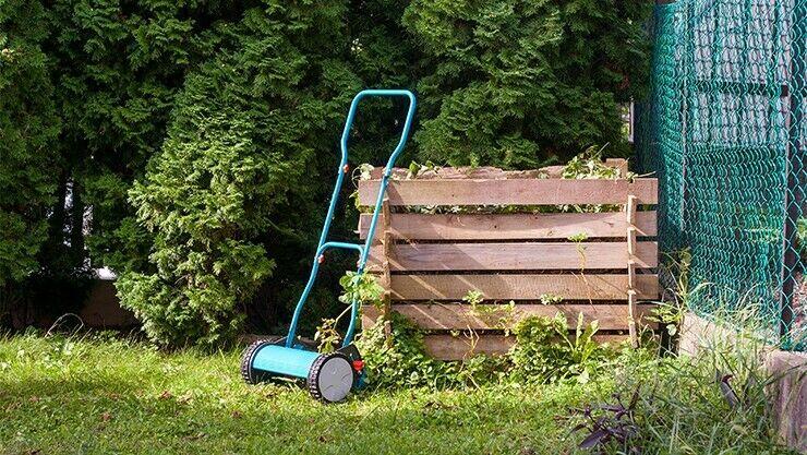 Rasenabfälle richtig kompostieren