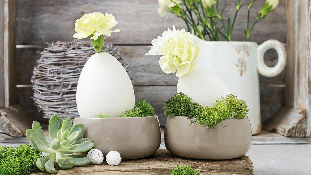 Floristische Tischdeko Fur Ostern